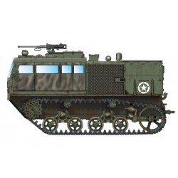 HBO82920 M4 High Speed Tractor 90mm 1/72