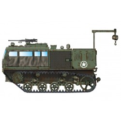 HBO82921 M4 High Speed Tractor 155-240mm1/72