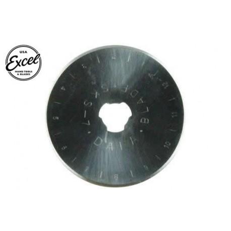 EXL60017 Outil - Lame de cutter rotatif - 45mm droite (2 pces) - Pour cutter 60024