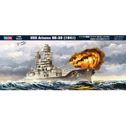 HBO83401 USS Arizona BB-39 (1941) 1/700