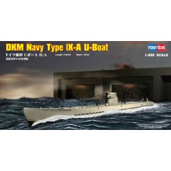 HBO83506 DKM Type IX-A U-Boat 1/350