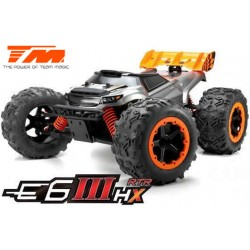 TM505005 Auto - Monster Truck Electrique - 4WD - RTR - Brushless 2500KV - 4S - Etanche - Team Magic E6 III HX
