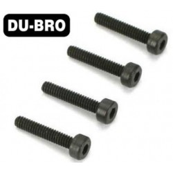 DUB2119 Screws - 2.5mm x15 Socket Head Cap Screw (4 pcs per package)