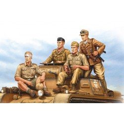 HBO84409 German Tropical Panzer Crew 1/35