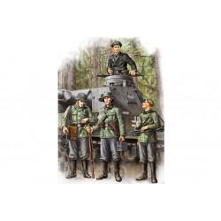HBO84413 German Infantry Set Vol 1 1/35
