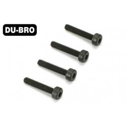 DUB2120 Screws - 3mm x 4 Socket Head Cap Screws (4 pcs per package)