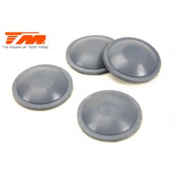TM505104 Pièce détachée - E6 Trooper / Trooper II / E6 III - Membrane d'amortisseur 17mm (4 pces)