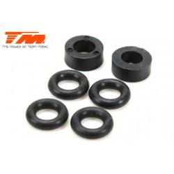 TM505108 Pièce détachée - E6 Trooper / Trooper II / E6 III - O-rings et rondelles d'amortisseurs