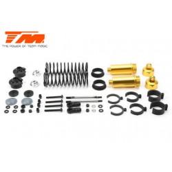 TM505110GD Pièce détachée - E6 III - Aluminium anodisé Gold - Amortisseurs (2 pcs)