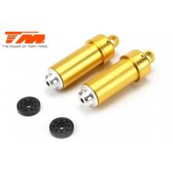 TM505110GD-1 Pièce détachée - E6 III - Aluminium anodisé Gold - Corps d'amortisseur (2 pcs)