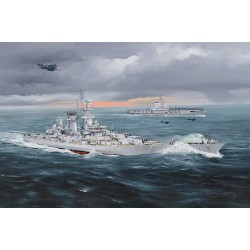 HBO86515 USS Hawai CB3 1/350