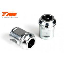 TM505125ST Pièce Option - E6 Trooper / Trooper II / E6 III - Noix de cardan central en acier (2 pces)