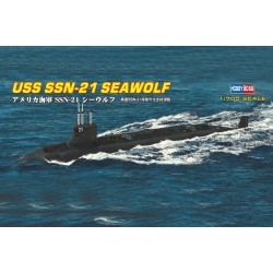 HBO87003 USS SSN-21 Seawolf Sub. 1/700