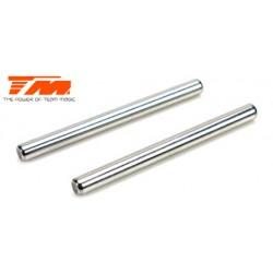 TM505130 Pièce détachée - E6 Trooper / Trooper II / E6 III - Axes de suspension supérieurs internes 4x48mm (2 pces)