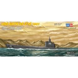 HBO87012 USS Gato SS-212 '41 1/700