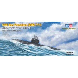 HBO87015 USS San Francisco (SSN-711) 1/700