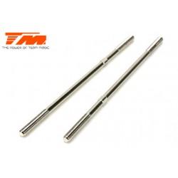 TM505143 Biellettes à pas inversé - Acier Inox - 4x110mm (2 pces)
