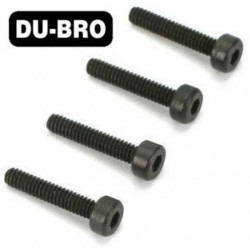 DUB2121 Screws - 3mm x 6 Socket Head Cap Screws (4 pcs per package)