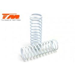 TM505176 Pièce détachée - E6 Trooper / Trooper II / E6 III - Ressort d'amortisseur - K1.6 (medium) - Blanc (2 pces)