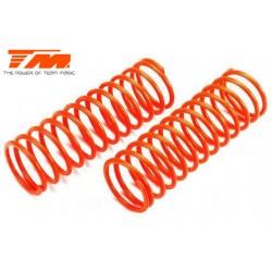 TM505176O Pièce détachée - E6 Trooper / Trooper II / E6 III - Ressort d'amortisseur - K1.6 (medium) - Orange (2 pces)