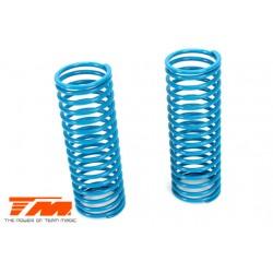 TM505177 Pièce détachée - E6 Trooper / Trooper II / E6 III - Ressort d'amortisseur - K1.2 (soft) - Bleu (2 pces)
