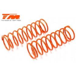TM505178 Pièce détachée - E6 Trooper / Trooper II - Ressort d'amortisseur - K1.8 (hard) - Orange (2 pces)
