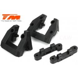TM505203 Pièce détachée - E6 Trooper II / E6 III - Supports d'axes de suspension supérieur AV/AR (4 pces)