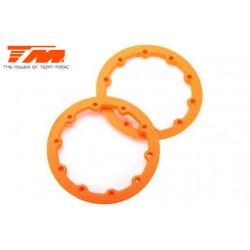 TM505206O Pièce détachée - E6 III - Anneaux de jantes Orange (2 pces)