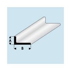 417-55 Profilé plastique L 3.5x 7 mm