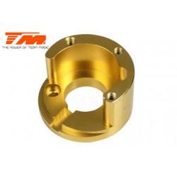 TM505208GD Pièce Option - E6 Trooper / Trooper II / E6 III - Aluminium anodisé Gold - Support moteur (pour moteur 4S)
