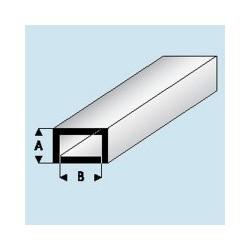 421-51 Tube plastique Plat 2x 4 mm