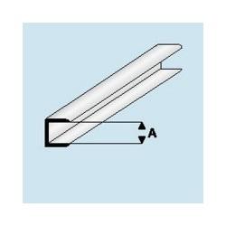 446-55 Profilé plastique Edge strip 4 mm