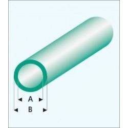 428-59 Tube plast. Rond Vert 330x5x6mm