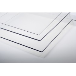 652-01 A3 PVC transparent 0.15 mm 65201