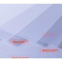 609-01 A4 PVC transp. mat 0.28mm 60901