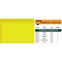 604-11 Self-Adhesive Foil Clear Yellow