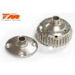 TM505230ST-1 Pièce détachée - E6 III - Corp acier de différentiel central