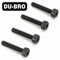 DUB2122 Screws - 3mm x 8 Socket Head Cap Screws (4 pcs per package)