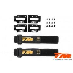 TM505248 Pièce détachée - E6 III - Support d'accu Quick Release avec strap ruban (compatible w/Velcro)