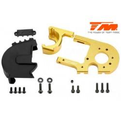 TM505249GD Pièce détachée - E6 III - Aluminium anodisé Gold - Support moteur réglable avec protection
