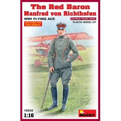 MINIART16032 Red Baron Richthofen WWI Ace 1/16