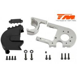 TM505249TI Pièce détachée - E6 III - Aluminium anodisé Titane - Support moteur réglable avec protection