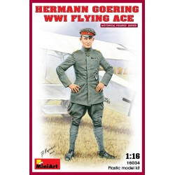 MINIART16034 Herman Goering WWI Flying Ace 1/16