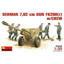 MINIART35033 German Fk288(r) + Crew 1/35