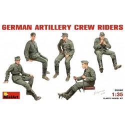 MINIART35040 Germ.Artillery Crew 1/35