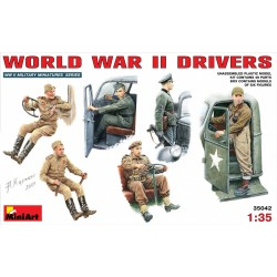 MINIART35042 World War II Drivers 1/35