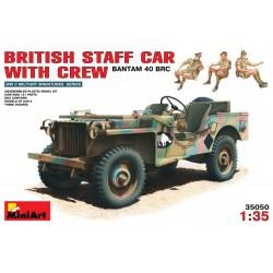 MINIART35050 Brit.Bantam 40BRC+Crew 1/35