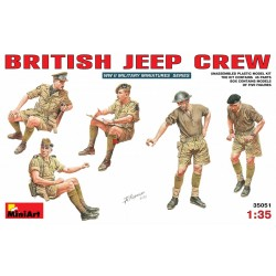 MINIART35051 British Jeep Crew 1/35