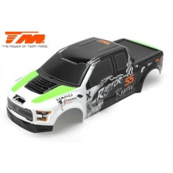 TM505321G Carrosserie - Monster Truck - Peinte - E6 Raptor - Vert