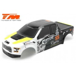 TM505321Y Carrosserie - Monster Truck - Peinte - E6 Raptor – Jaune